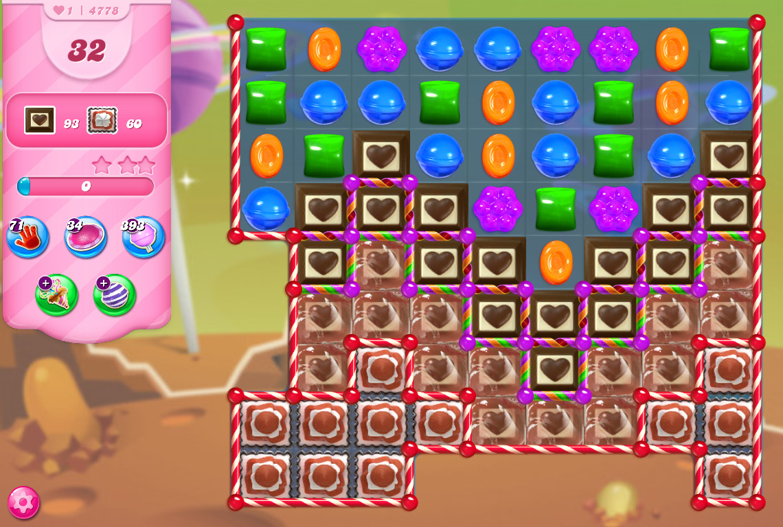 Candy Crush Saga level 4778