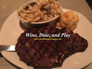 Bonefish Grill is more than just seafood with a large 18-ounce ribeye steak