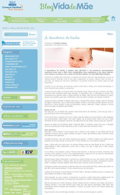 Mãe Sem Frescura - Nestlé - Blog Vida de Mãe
