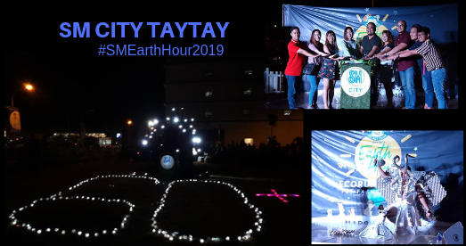 SM City Taytay Earth Hour 2019