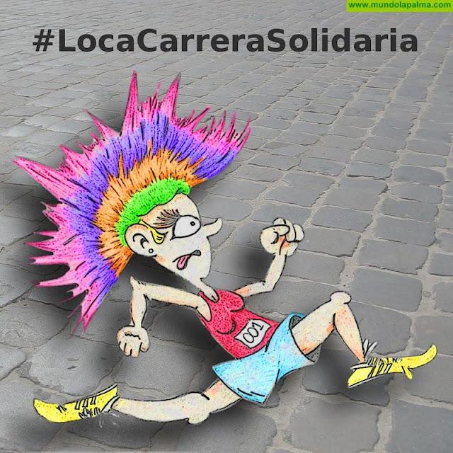 'La Loca Carrera Solidaria' - La Peluca de Santa Cruz de La Palma