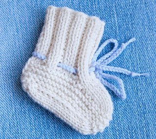 Free Knitting Patterns For Baby Shoes