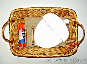 Torn paper acorn craft