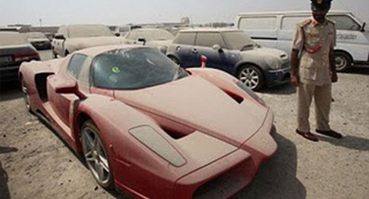 Dubai Police unable to sell impounded rare Ferrari Enzo | Car ...
