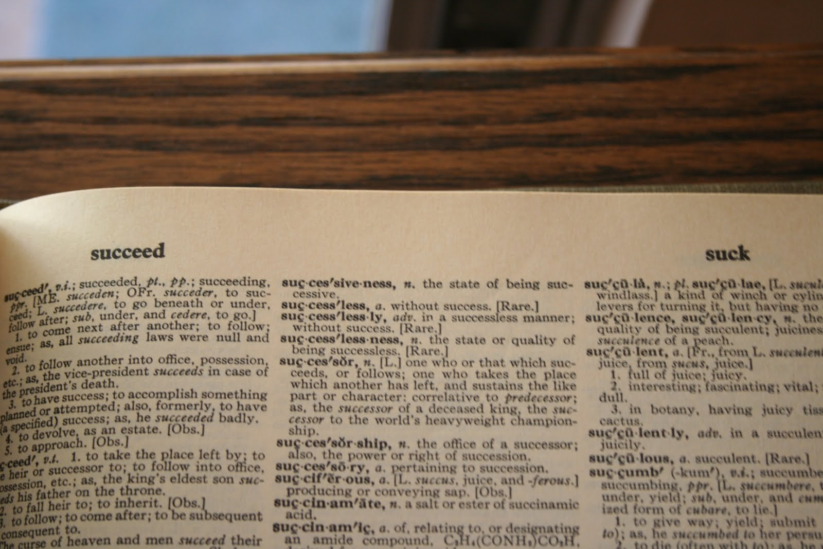 Guide Words Dictionary