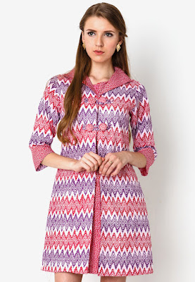 Mini Dress Print Rangrang