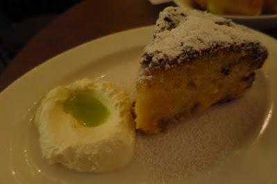 Caffe Fernet, olive oil cake