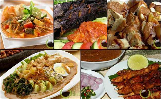 10 Makanan Khas Indonesia yang paling Disukai oleh Turis