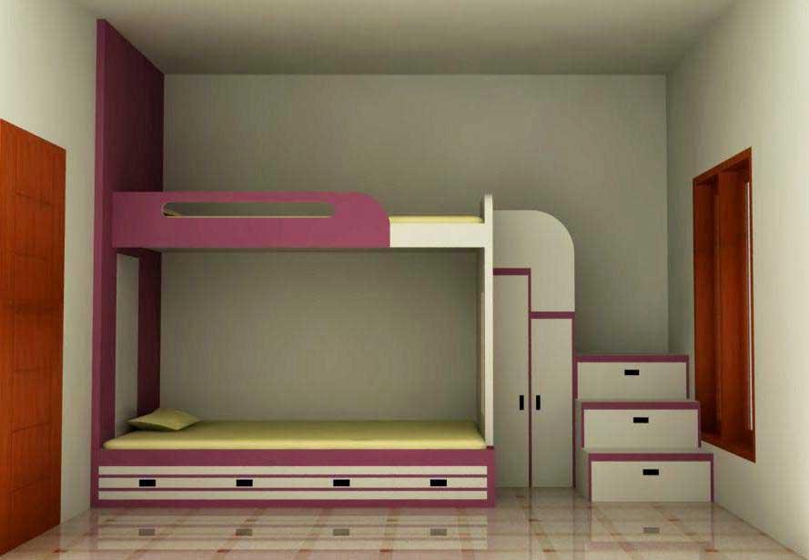 46 Desain Kamar Tidur Tingkat Anti Ngebosenin  Rumahku Unik