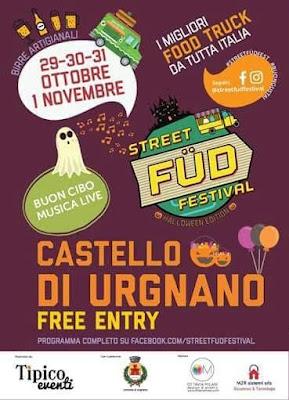 Street Fud Festival dal 29 ottobre al 1 novembre Urgnano (BG)