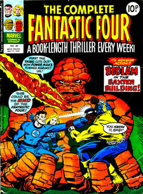 Complete Fantastic Four #36, vs Luke Cage, Power Man