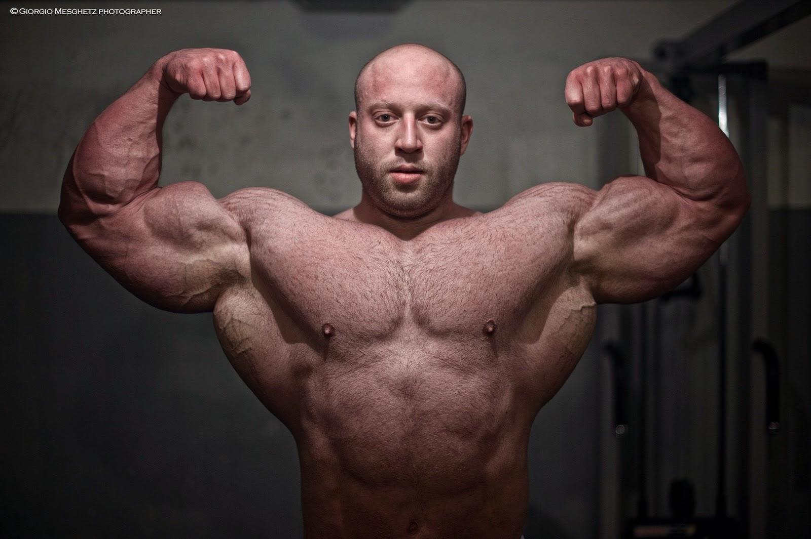 Muscle Lover: Freaky biceps by Petar Klančir