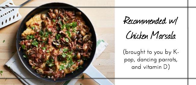 An easy and delicious chicken marsala recipe