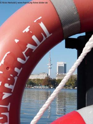 Fernsehturm Hamburg, Blick durch Ring