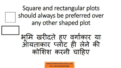 Choice of Plot as per Vastu, http://theastrojunction.com , Gaurav Malhotra