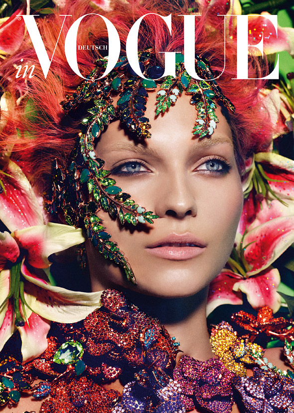 2013 German Vogue Swarovski Horoscope Calendar. See it all at if its hip its here.