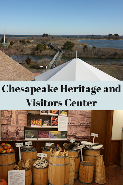 Chesapeake Heritage and Visitor Center in Kent Narrows, Maryland