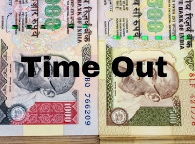 500 and 1000 rupee note discontinued