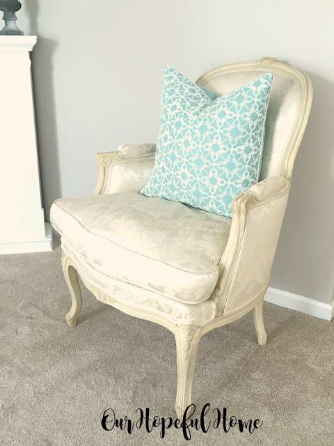 vintage bergere chair 1972