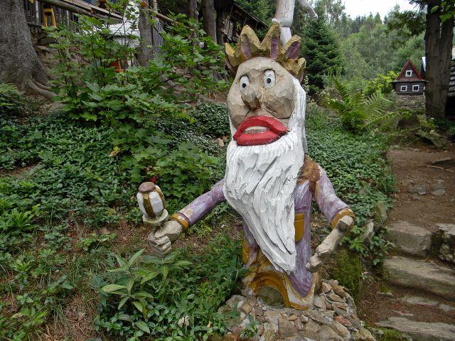 ogród bajek w Miedzygórzu