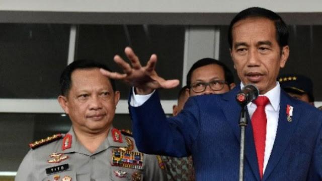 Limpahkan ke Kepolisian, Sinyal Penertiban #2019GantiPresiden dari Jokowi?