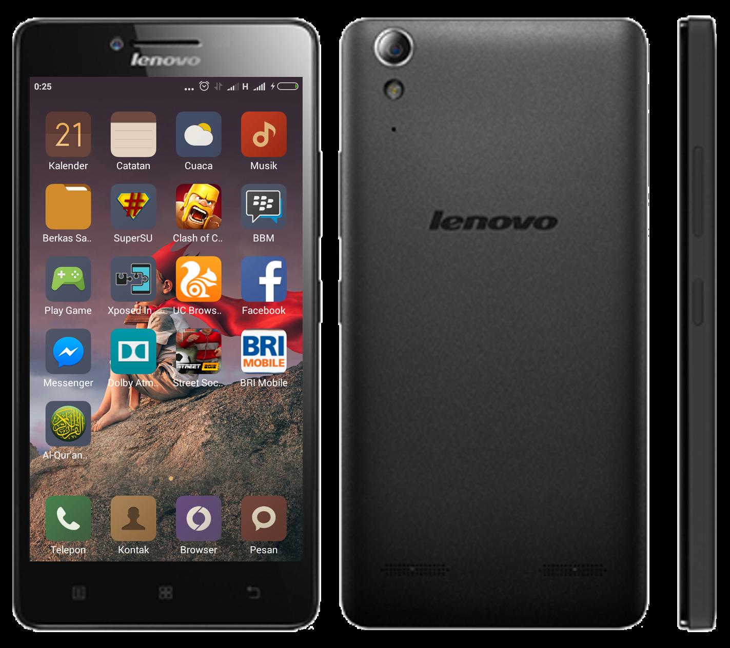 Tutorial Cara Rooting Lenovo A6000