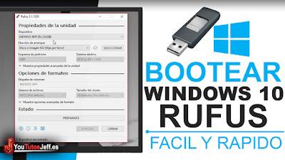 como bootear windows 10