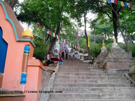 Swayambhunath temple, Nepal