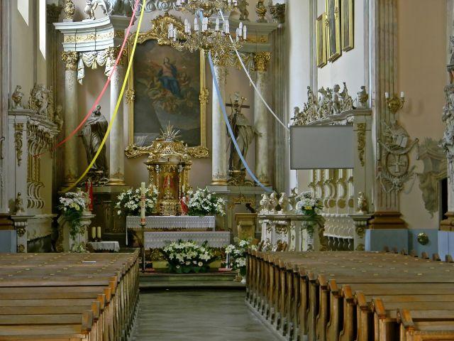 kościół klasztorny, Obra