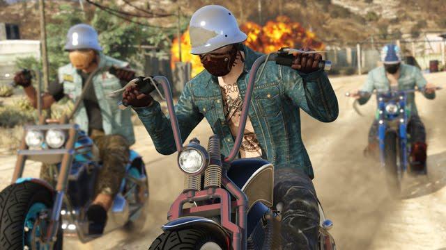 اليكم اهم ما اتي به التحديث الجديد لمستخدمي GTA V اونلاين  تحديث نوادي الدرجات النارية او The bikers