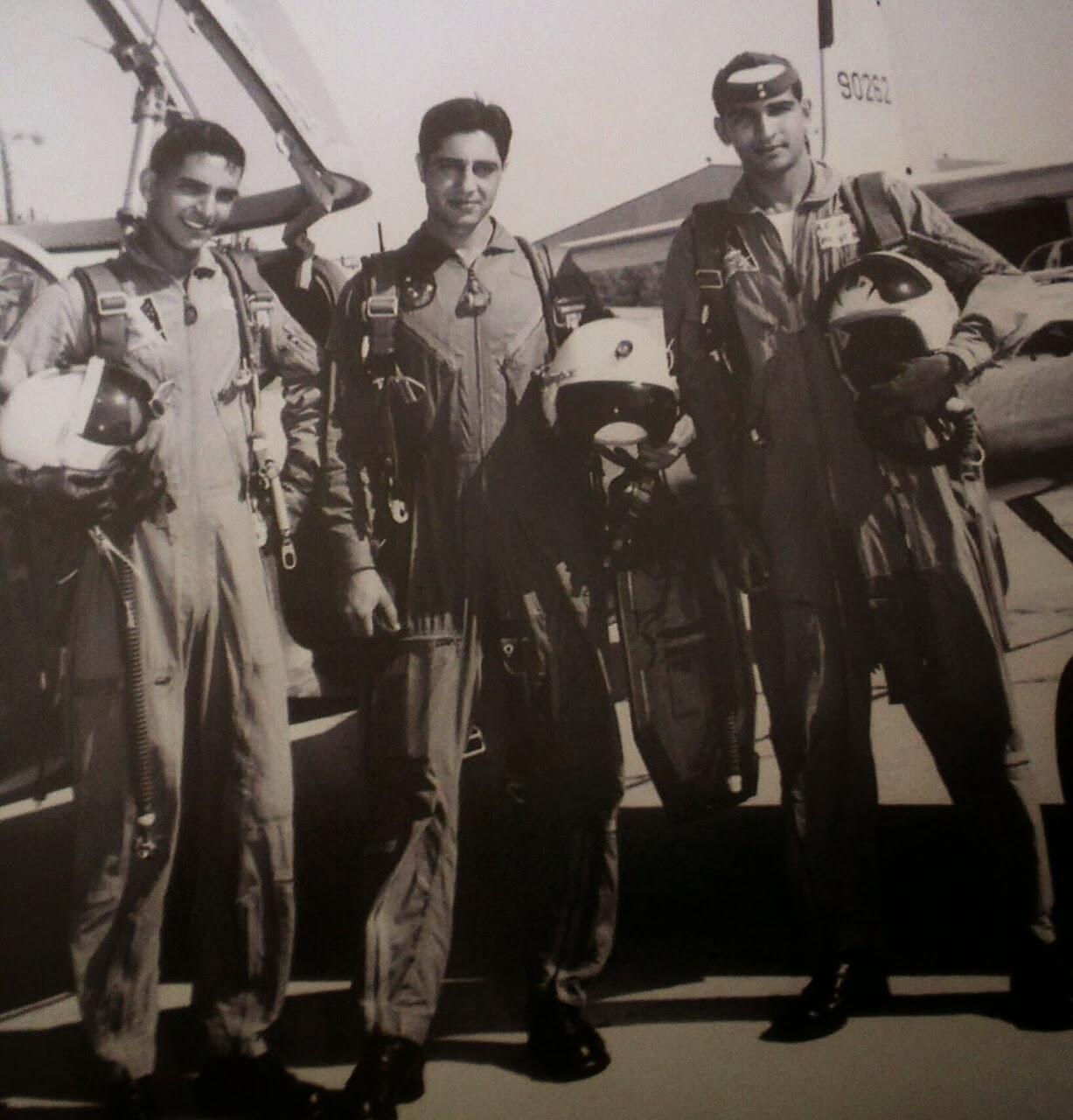 AVM Raja Aftab with Aviation Cadets in USA