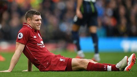 James Milner không được trọng dụng tại Man City