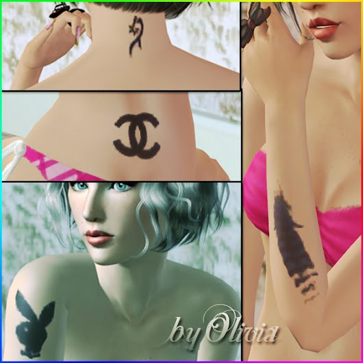 Cute Tattoo Set