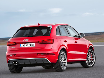 Audi Q3 SUV Rear view
