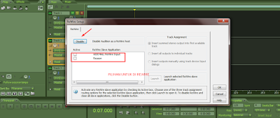 Tutorial adobe audition – Rewire dengan Program lain