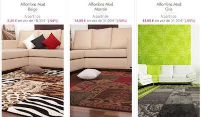 alfombras retro y patchwork