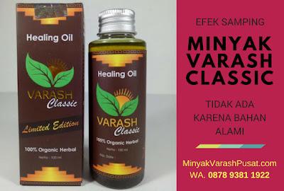 Efek Samping Minyak Varash Classic atau Original