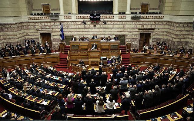 Υπερψηφίστηκε με 153 «ναι» η συμφωνία των Πρεσπών