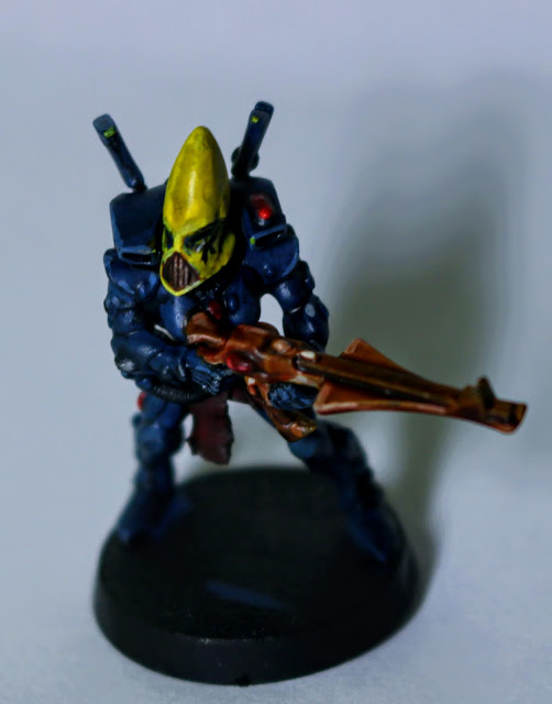 alaitoc eldar, paint test, yellow heads