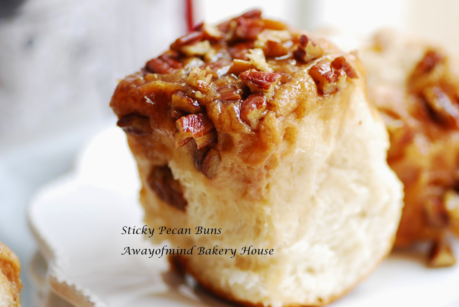 Awayofmind bakery house sticky pecan buns for Pecan house