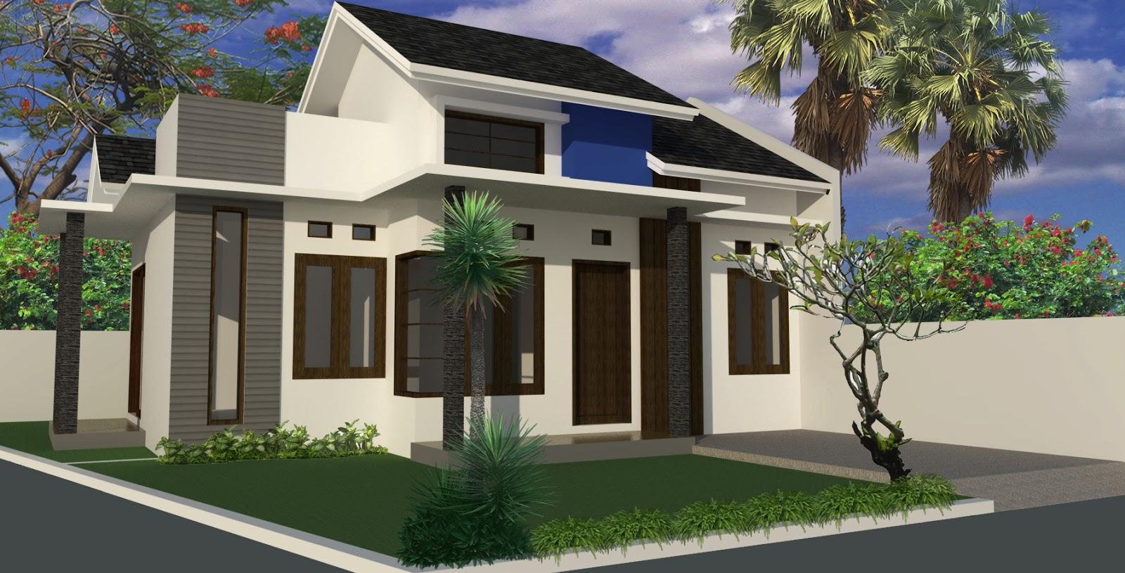 Desain Rumah Minimalis  Type 54 2019 Rumah