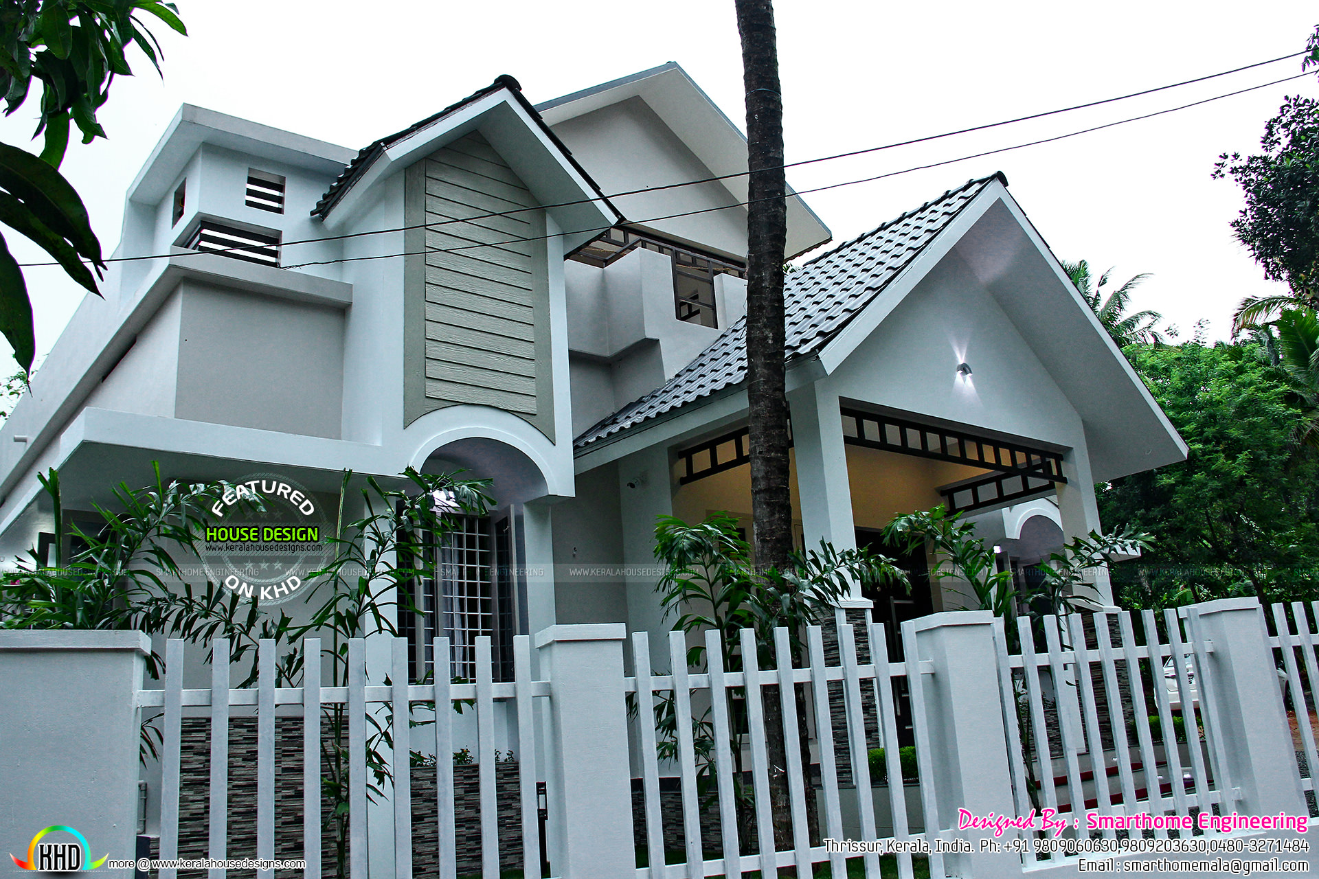 Kerala Home At 25 Lakhs Cost Kerala Home Design And Floor Plans