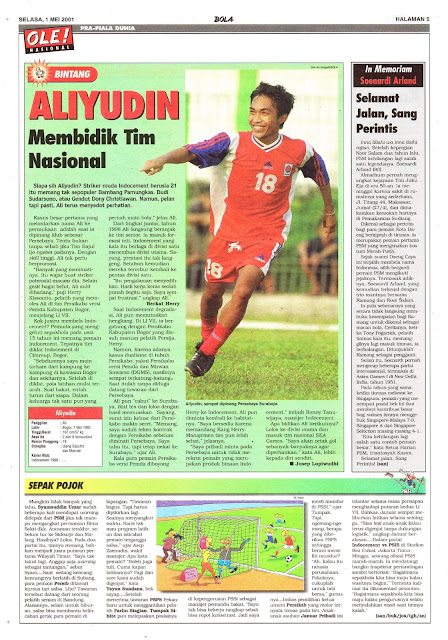 PROFIL PEMAIN LIGA INDONESIA ALIYUDIN