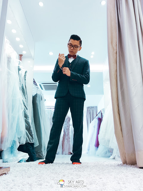 Wedding suit that I got in LaFame Bridal Mansion PJ SS2