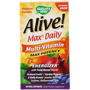 Nature's Way - Alive! - Max6 Daily Multi-Vitamin