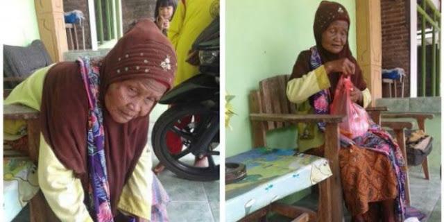 Dijadikan Sebagai Pengemis, Nenek Ini Harus Setor 150 Ribu Setiap Harinya