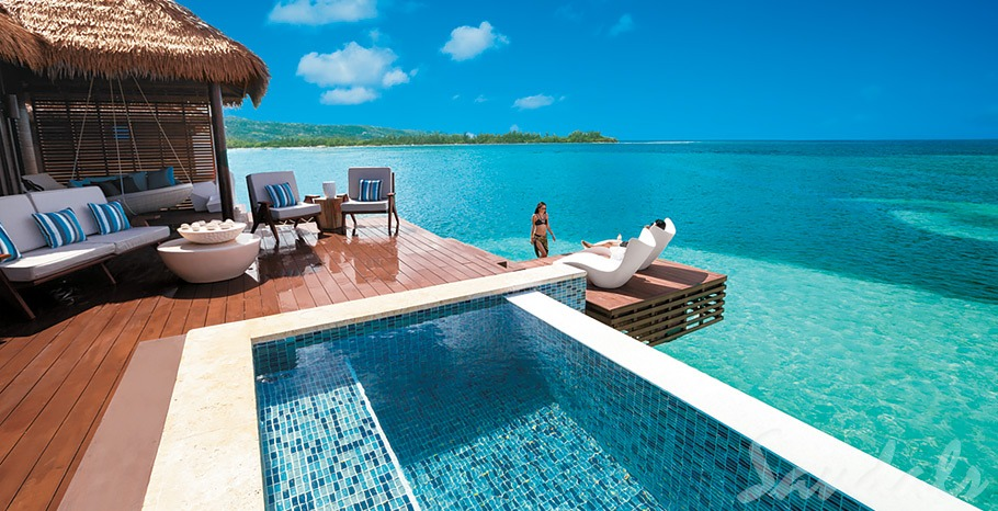 9 Overwater Bungalows Open At Sandals Grande St Lucian: Where To Stay In An Overwater Bungalow Suite
