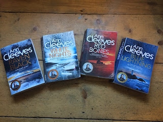 Shetland Island series by Ann Cleeves - Reading, Writing, Booking