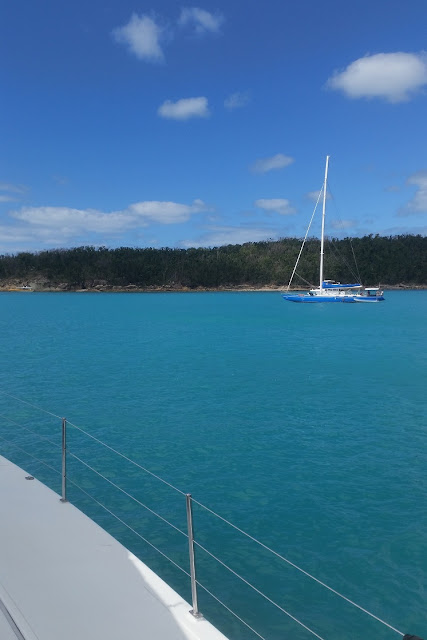 barca a vela isole whitsunday australia