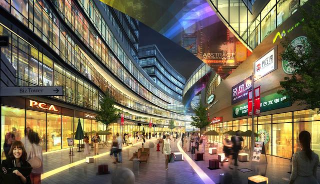 Trung tâm thương mại tại chung cư marriot Đà nẵng